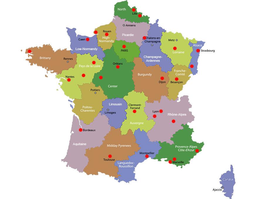 Bordeaux Francia Cartina.Linee Tranviarie In Europa La Mappa Della Francia